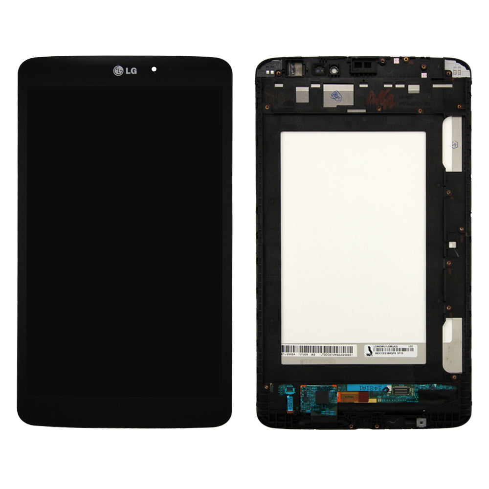 LCD and Touch Screen Digitizer with Frame LG G Pad 8.3 V500 - Black