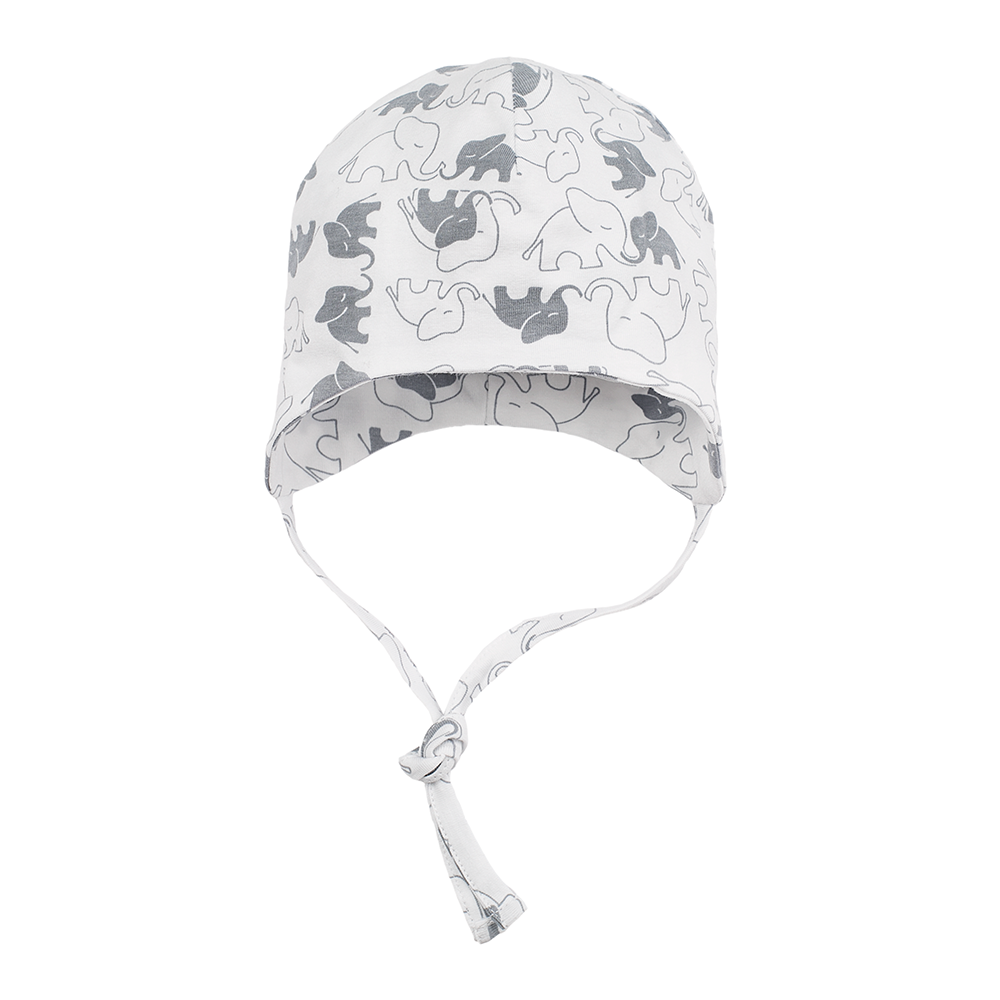 ee48449933c Baby organic cotton hat Grey Elephant – Wonderful Kids  Clothing
