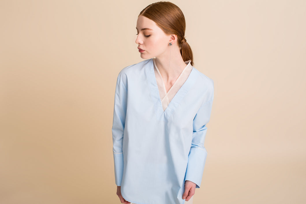 Sodam Top (Alice Blue) S/M