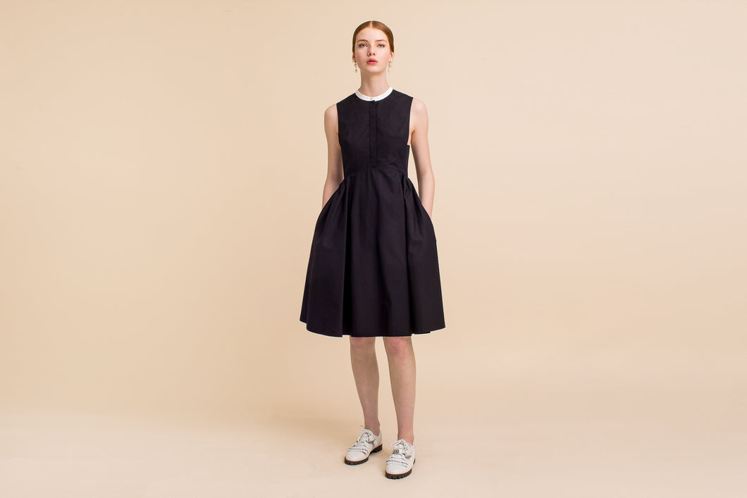 Maru Dress (Black) Size: XS/S