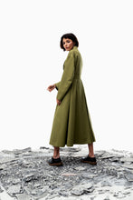 Liun Trench Coat (Meadow Olive) Pre-order