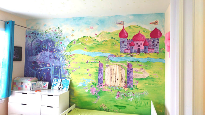 DIY- Nursery Mural Painting