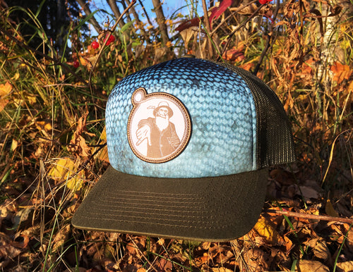 Olive Salmon Sublimation Hat