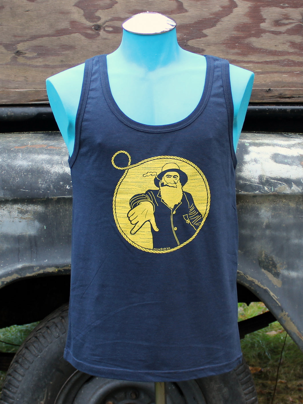 Unisex Navy Captain Doug Tank