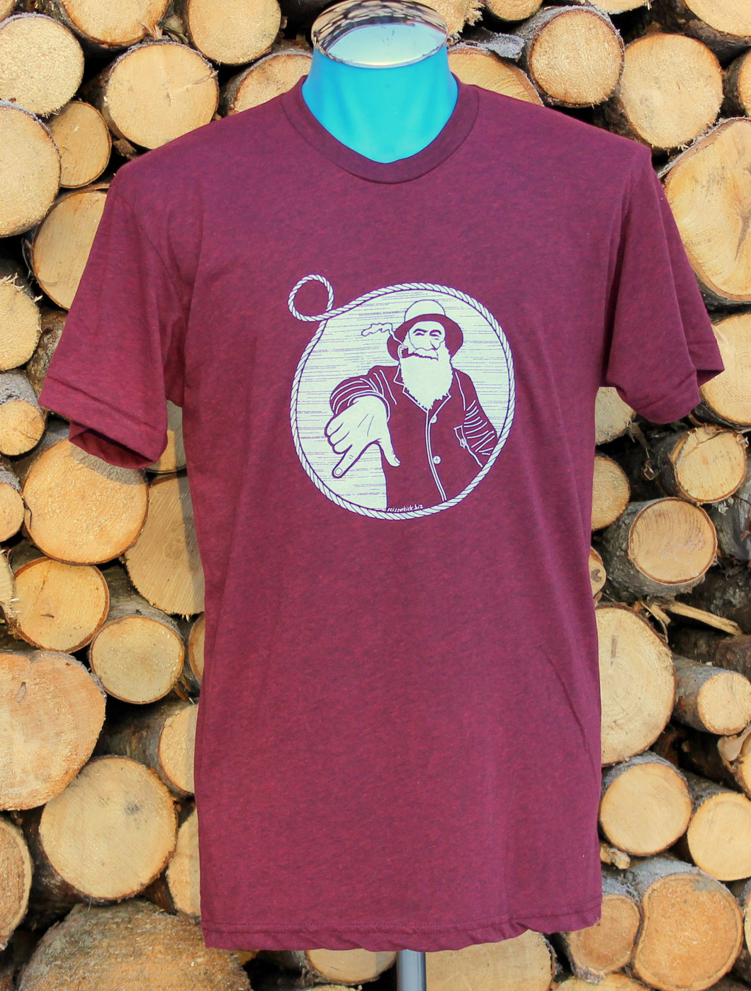Unisex Cranberry Captain Doug Tee