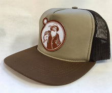 Tan/Brown Foam Trucker w/Rust Captain Doug Hat