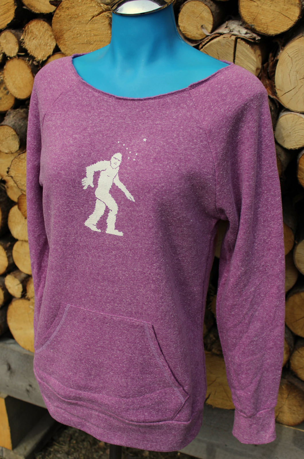 Women's Rose Yeti Scoop Neck Sweatshirt