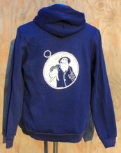 Unisex Midnight Blue Captain Doug Zip-Up Hoodie