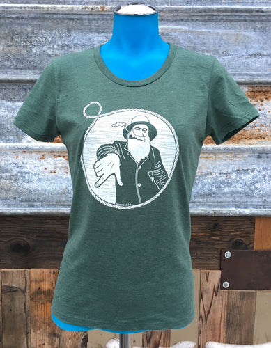 Women's Forest Captain Doug Tee