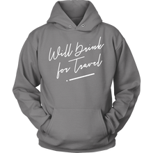 Unisex Hoodie with White Cursive