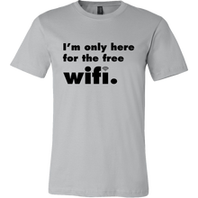 Men's Short Sleeve Wifi Tee - White