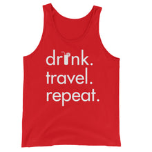 Men's Drink Travel Repeat Tank