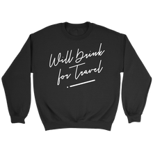 Unisex Crewneck Sweatshirt with White Cursive