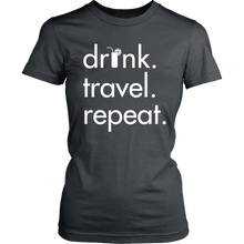 Women's Drink Travel Repeat Tee