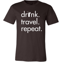 Men's Drink Travel Repeat Tee