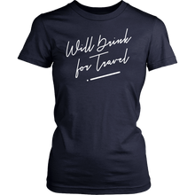 Women's Short Sleeve Cursive Tee