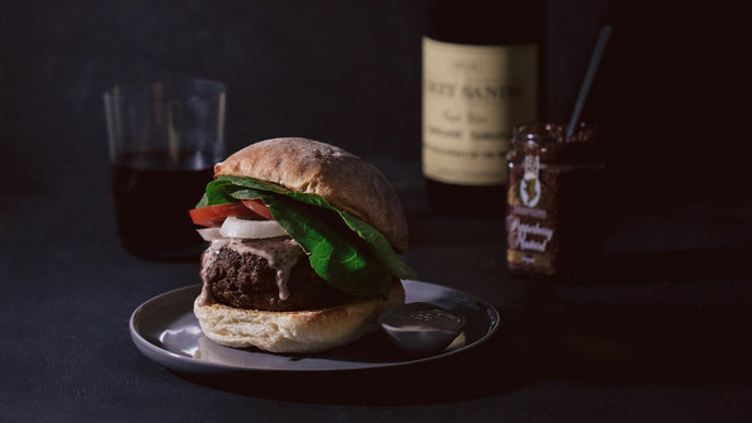 Bothwell Venison Burgers with Mustard & Pepperberry Mayonnaise
