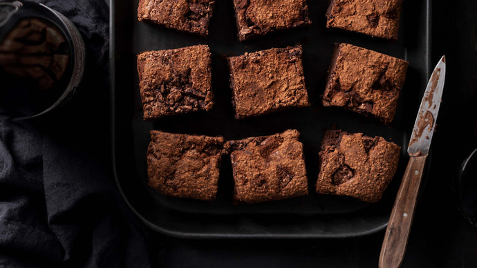 T-Bone Brewing Co Choc-Milk Stout Brownies