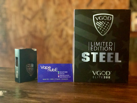 VGOD ELITE 200 LIMITED EDITION STEEL