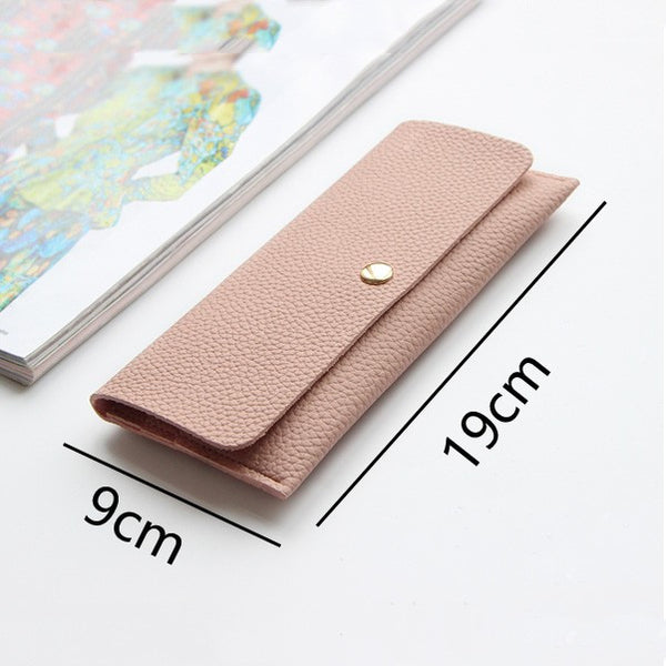 Easy to Carry Women Leather Purse (Multi colors)