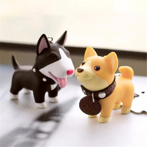 Super Cute Dog Keychains & Accessories (4 Designs)