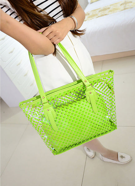Trendy Women Fashion Hand Bag, Shoulder Bag & Beach Bag (2 pcs) 2 for 1 Price!