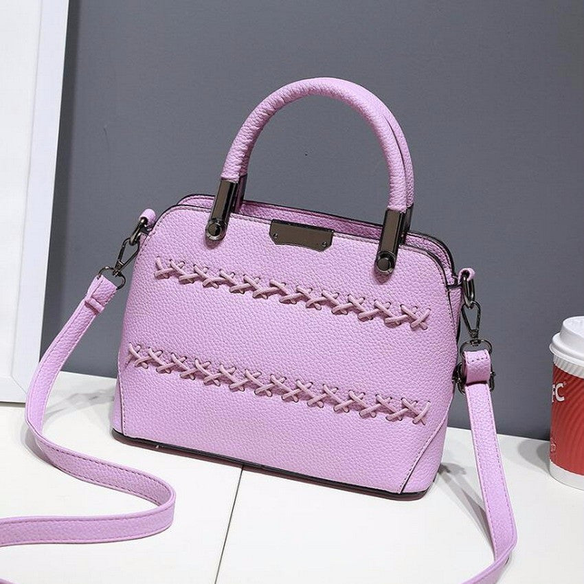43210cf4723 ... Trending Korea Fashion Women Leather Top-handle Handbags   Sling Bags  ...