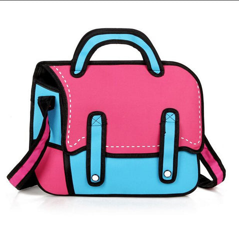 Lovely 2D Anime Handbag / Satchel Bag (Multi colors)