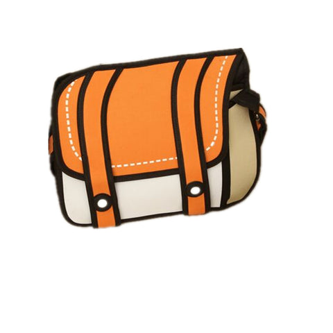 Real 2D Cartoon Shoulder Bag (Multi colors)