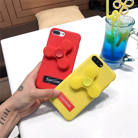 Candy Color Fidget Spinner Phone Case for IPhone 6, 6S, 6 Plus, 6S Plus, 7 & 7 Plus (Multi colors)