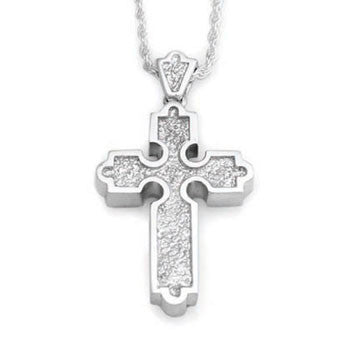 Traditional Roman Cross - Forever Near Memorial Jewellery