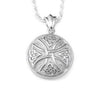 Round Celtic Cross - Forever Near Memorial Jewellery