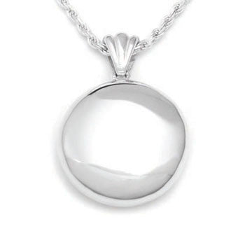 Round High Polish - Forever Near Memorial Jewellery
