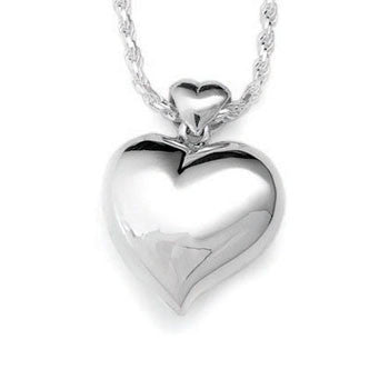 Offset Heart - Forever Near Memorial Jewellery