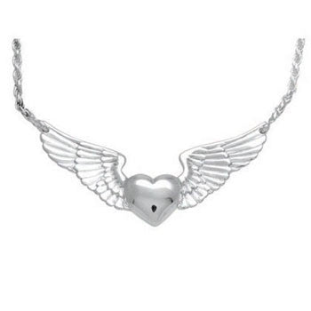 Heart With Wings - Forever Near Memorial Jewellery