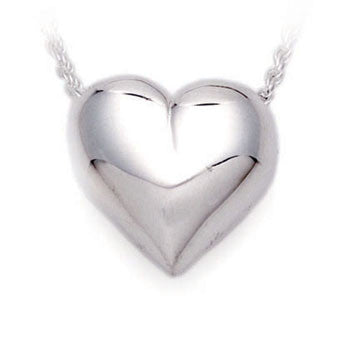 Traditional Heart - Forever Near Memorial Jewellery