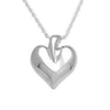 Modern Heart - Forever Near Memorial Jewellery