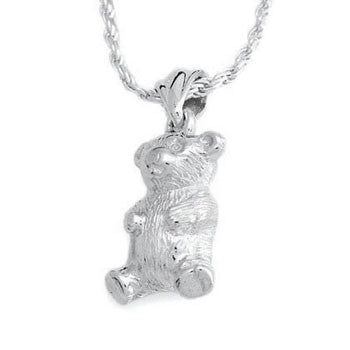 Teddy Bear - Forever Near Memorial Jewellery