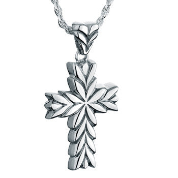 Starburst Cross - Forever Near Memorial Jewellery