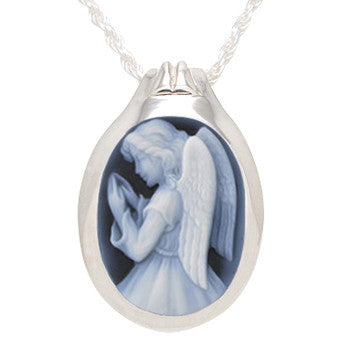 Cameo -  Angel - Forever Near Memorial Jewellery