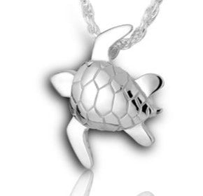 Sea Turtle - Forever Near Memorial Jewellery