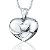 Heart Dog - Forever Near Memorial Jewellery