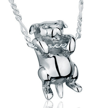 Dog With Wagging Tail - Forever Near Memorial Jewellery