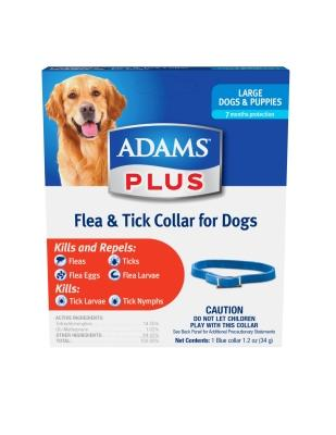 Adams Plus Flea & Tick Collar Large Dogs, 26-inch