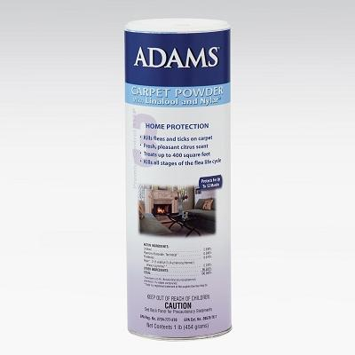 Adams Carpet Powder With Linalool & Nylar