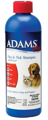 Adams Plus Flea & Tick Shampoo 12 OZ