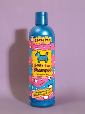 Crazy Dog Shampoo Baby Powder