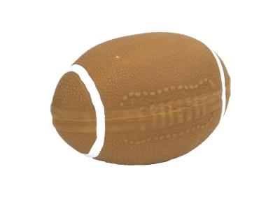 83014 Brown Latex Football 4""