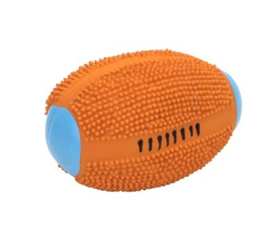 83030 Spiney Football Orange 4""