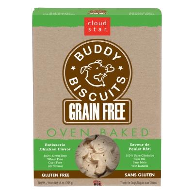 Grain Free Oven Baked Buddy Biscuits